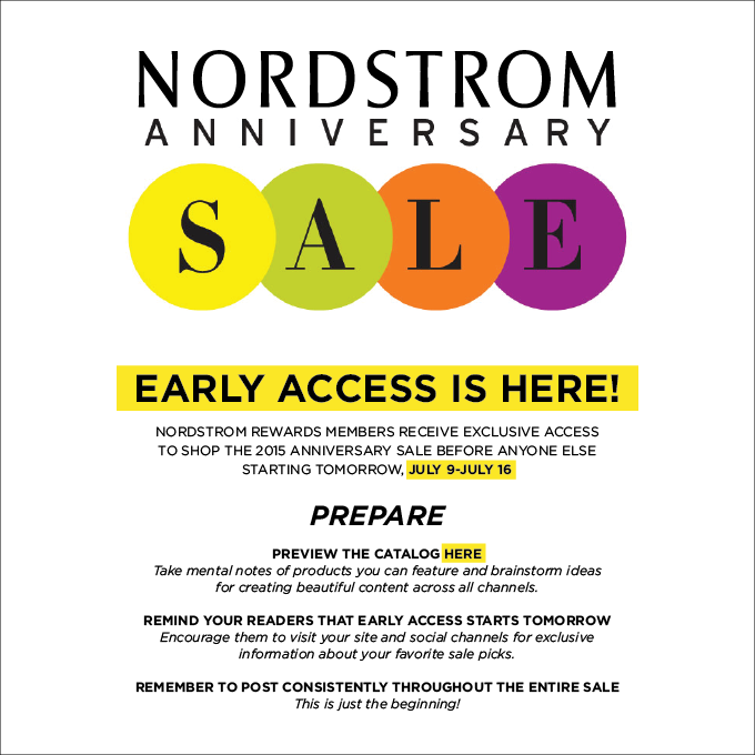 Nordstrom Early Access