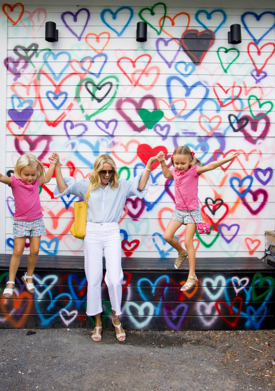 Houston heart wall in the Heights