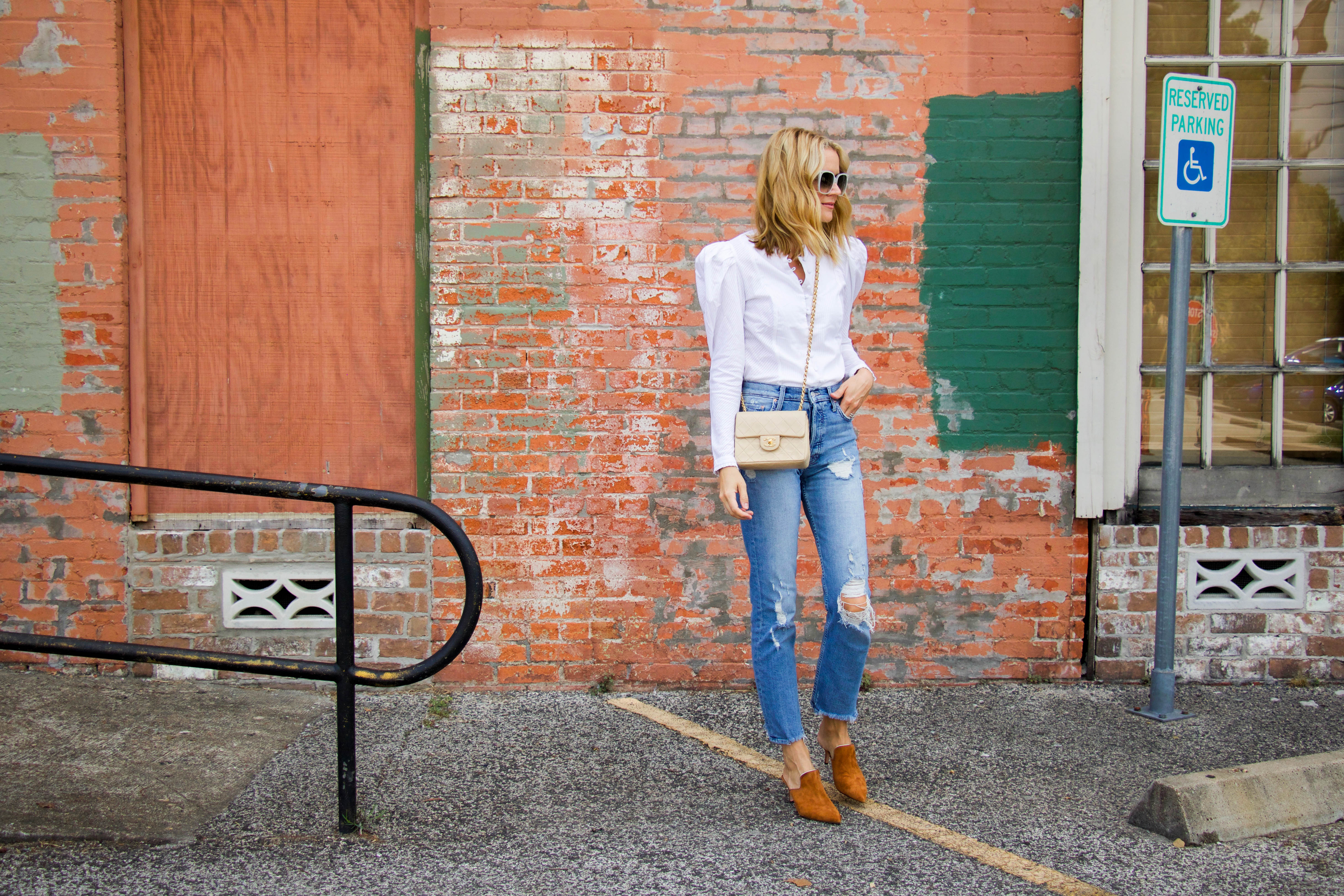 L. Avenue OOTD - Summer to Fall transition
