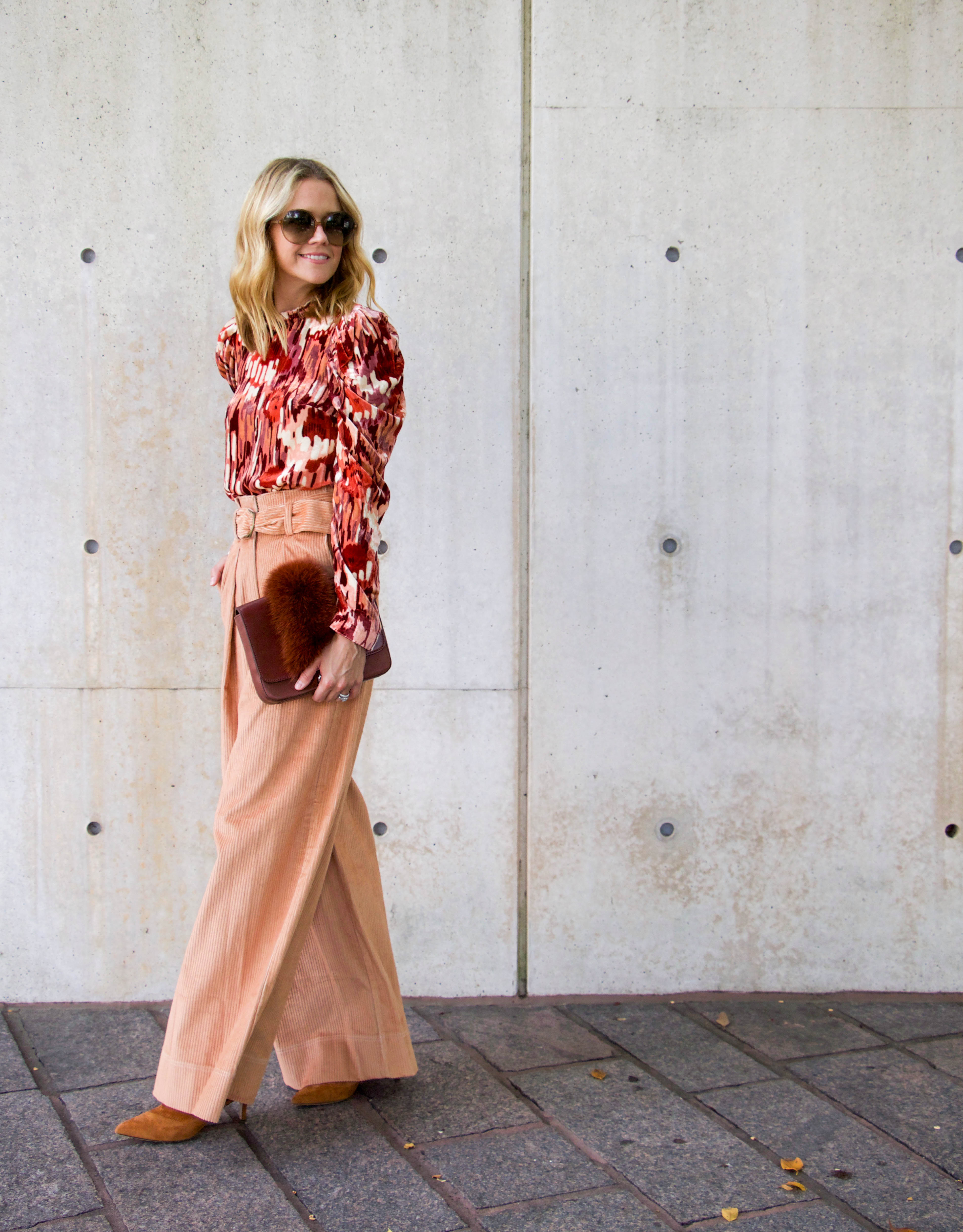 Ulla Johnson blouse and trousers